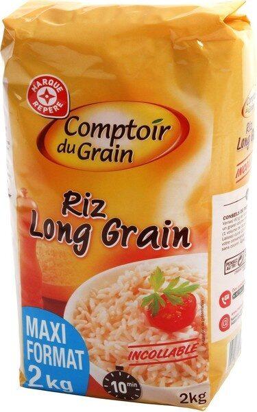 Riz long étuvé cuisson rapide - Produit