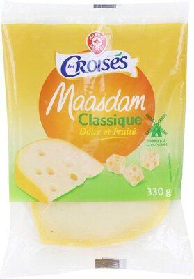 Maasdam 27%mg portion - Produit - fr