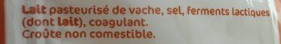 Maasdam 27%mg portion - Ingrédients - fr