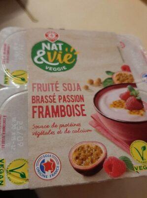 Spécialité au soja framboise et passion - Produit - fr