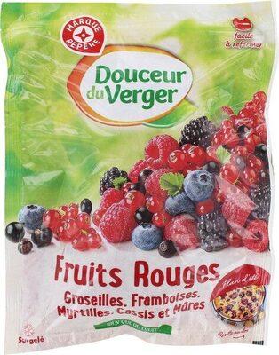Fruits rouges surgelés - Produit - fr