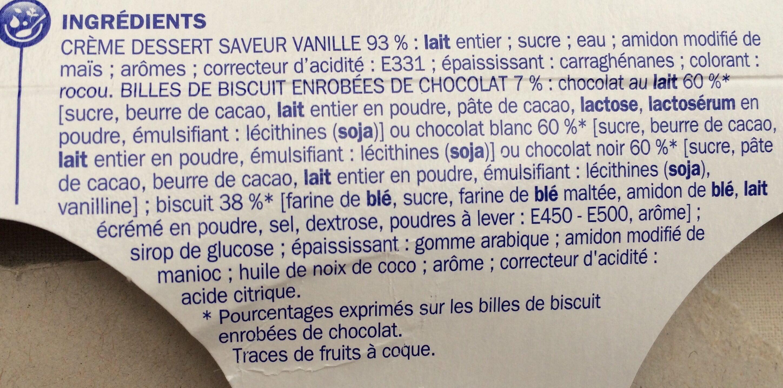 Mix'n'croc vanille billes - Ingrédients - fr