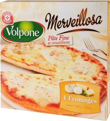 Pizza Merveillosa 4 fromages - Produit - fr