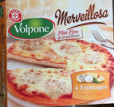Pizza Merveillosa 4 fromages - Informations nutritionnelles - fr