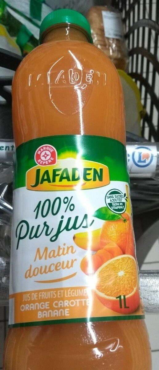 Pur jus orange carotte banane - Produit - fr