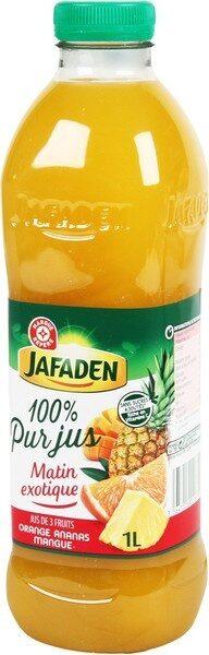 Pur jus d'orange, ananas et mangue - Product - fr