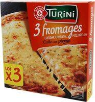 Pizza 3 fromages - Produit