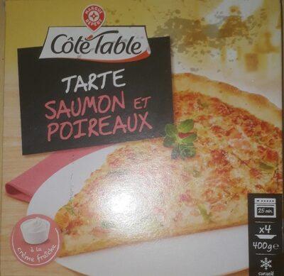 Tarte saumon et poireaux - Product - fr