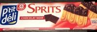 Sprits au chocolat noir - Product