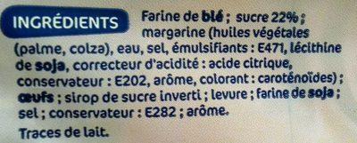 Gaufres liégeoises aux perles de sucre - Ingredients - fr