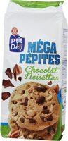 Cookies méga pépites de chocolat et noisettes - Product - fr