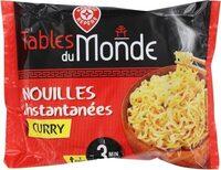 Nouilles asiatiques curry - Produit - fr