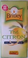 Thé citron Britley - Produit