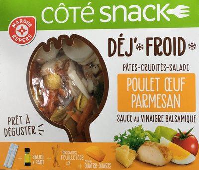 Salade poulet crudités parmesan - coffret - Produit