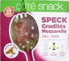 Salade speck crudités mozzarella - coffret - Produit