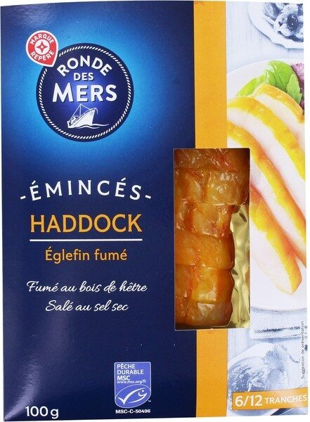 Emincés de haddock - Produit - fr