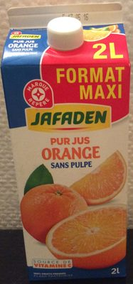 Pur jus orange sans pulpe (format maxi) - Product