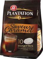 Dosettes café saveur caramel x 10 - Produit - fr