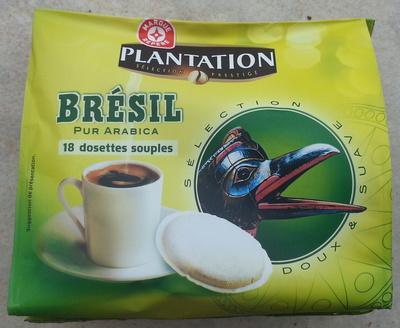 18 dosettes souples du bresil pur arabica - Product - fr