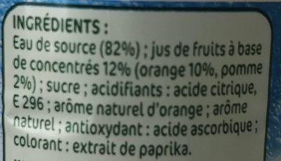 Orange a l'eau de source - Ingrediënten - fr