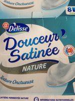 Douceur satinée nature - Ingrediënten