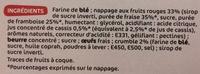 P'tit déli - Tartelettes fruits rouges et crumble - Ingrédients - fr