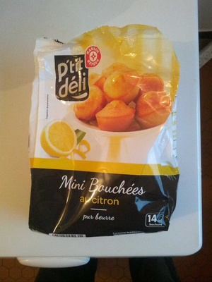 Mini bouchées au citron - Produit - fr