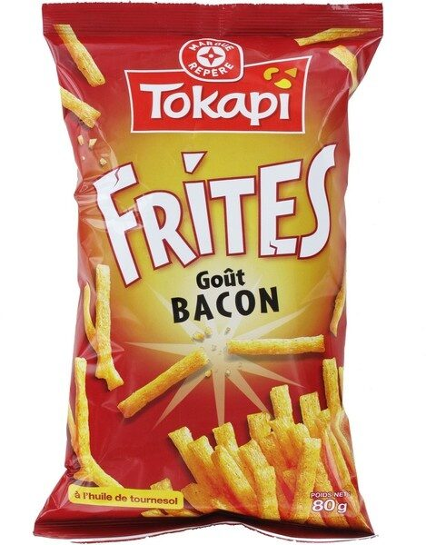 Frites goût bacon - Product