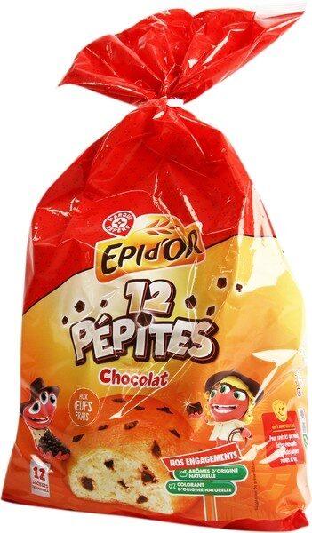 Briochettes pépites de chocolat x 12 - Product