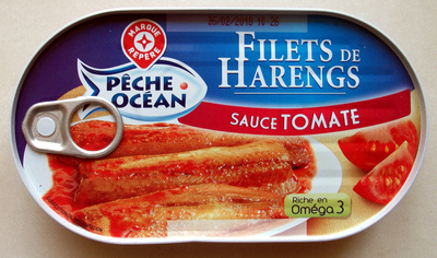 Filets de Harengs (sauce tomate) - Produit