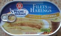 Pêche Océan - Filets de Harengs - sauce à la moutarde - Produit - fr