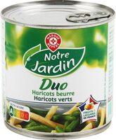 Duo haricots verts/beurre 225g pne - Produit