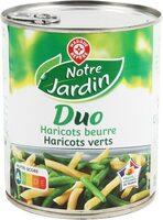Duo haricots verts/beurre 445g pne - Produit