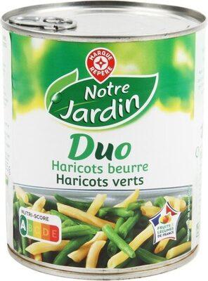 Duo haricots verts/beurre 445g pne - Produit - fr