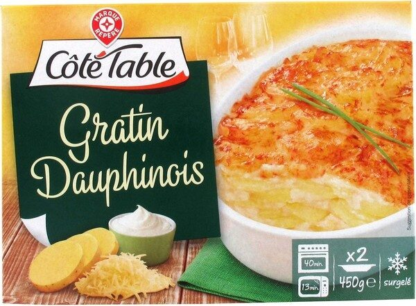 Gratin dauphinois - Product
