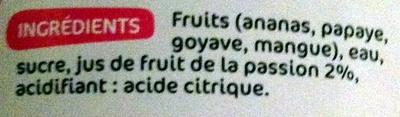 Mélange fruits exotiques - Ingrédients - fr