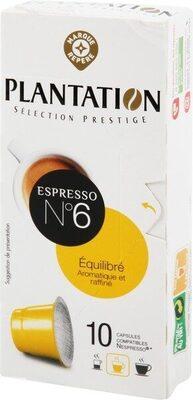 Capsules de café équilibre x 10 - Produit - fr