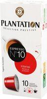 Capsules de café intense x 10 - Produit - fr