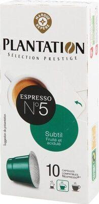 Capsules de café subtil x 10 - Produit - fr