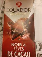 Chocolat noir feves de cacao - Produit - fr