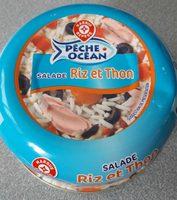 Salade de riz et thon - Produit - fr