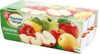 Compotes allégées pomme - Product - fr