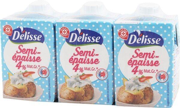 Crème UHT semi-épaisse 4% Mat. Gr. - Product - fr