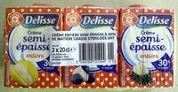 Crème semi-épaisse entière (30 % MG) - Product