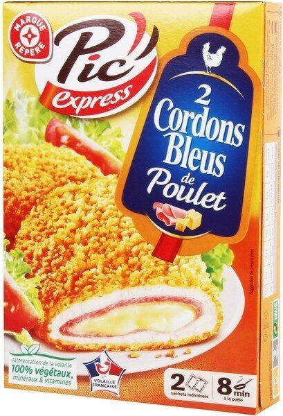 Cordons bleus de poulet x 2 - Product