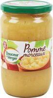 Compote de pommes avec morceaux - Produit - fr