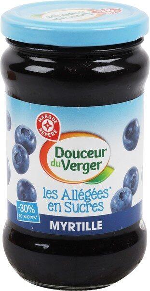 Les allégées en sucres Myrtille - Product - fr