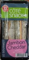 Sandwich Club Gourmet jambon cheddar - Product - fr