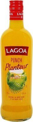 Punch planteur avec du vieux rhum 15% - Produit - fr