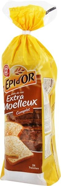 Pain de mie complet extra moelleux - Product - fr